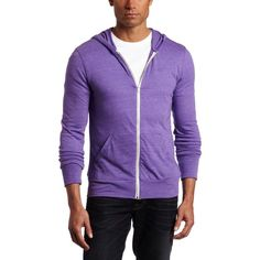 Alternative Men s Zip Hooded Jacket ( 13) ❤ liked on Polyvore featuring  men s fashion 4fa641fef1