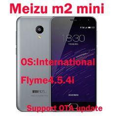 Original Meizu M2 Mini 4G LTE Mobile Phone MTK6735 Quad core 2GB RAM 16GB ROM 5.0 Inch 1280x720 13MP Camera 2500mAH GPS US $126.99-135.99 /piece To Buy Or See Another Product Click On This Link  http://goo.gl/EuGwiH
