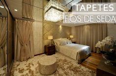 Decor Salteado - Blog de Decoração e Arquitetura : Tapetes fios de seda – veja salas e quartos maravilhosos decorados com eles!