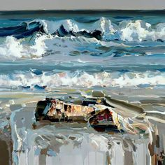 """crossconnectmag: """" Paintings by Josef Kote  Josef Kote is an Albanian-born (in 1964), New York-based visual artist. """" The paintings of jJosef Kote are symphonies of light and color. They are lyrically..."""