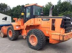 Daewoo Doosan Mega 250-v Tier-Ⅱ Wheeled Loader Service Parts