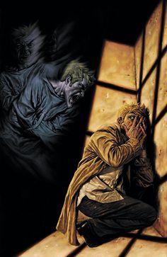 Hellblazer - Constantine by Lee Bermejo Hellblazer Comic, Constantine Hellblazer, John Constantine, Comic Book Artists, Comic Artist, Comic Books Art, Alex Ross, Marvel Vs, Lee Bermejo
