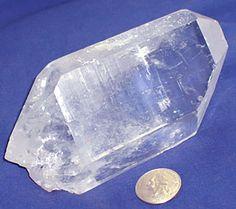 Large DT Quartz Crystal Point