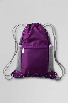 4e4823fde8 Dot Print Packable Cinch Sack - Cabbage Purple Multi Dot