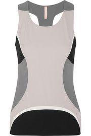 Moku color-block stretch-jersey top
