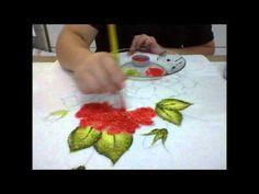 """pintura em toalhas de banho """"felpa"""" - YouTube"""