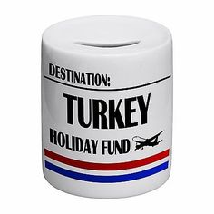 Destination turkey holiday fund #novelty #ceramic #money box,  View more on the LINK: http://www.zeppy.io/product/gb/2/171782236891/