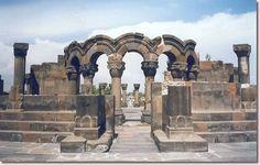Zvartnots, Armenia.  http://www.worldheritagesite.org/sites/echmiatsinzvartnots.html