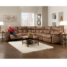 The Stallion Faux Leather Collection is a great way to add extra seating to your room. This group features built in recliners, a storage...