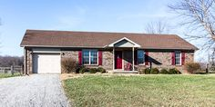 WOW! 3 BR, 2 Full Bath ALL BRICK RANCH has over 1500 sf and is situated on 1.82 acres on a LOW TRAFFIC dead end street w/ Charlestown address.   #Charlestown #SouthernIndiana #Homes