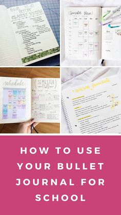 Discover how to use your bullet journal for school success. From a packing list for college to taking productive notes! Keeping A Bullet Journal, Bullet Journal Student, Bullet Journal Font, Bullet Journal Tracker, Bullet Journal Hacks, Bullet Journal Printables, Bullet Journal Spread, Bullet Journals, Journal Pages
