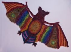 #Crochet Animal Zentangle #Art - interview with artist Ann Benoot