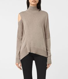Womens Cecily Sweater (Sable Brown) - product_image_alt_text_1