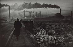 Don McCullin - Travail à l'aube, aciérie de West Hartlepool, comté de Durham