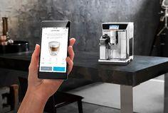 De'Longhi PrimaDonna Elite - La cafetera inteligente que vas a controlar con una App en tu smartphone Coffee Maker, Dynamic Design, Art And Technology, Winter Warmers, Control, Keurig, Barista, Brewing, Smartphone