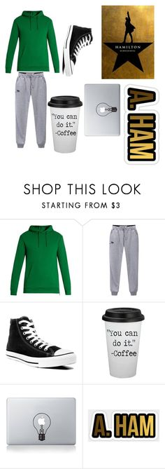 """Alexander's common college wear"" by jadewonders ❤ liked on Polyvore featuring Balmain, Converse and Vinyl Revolution"