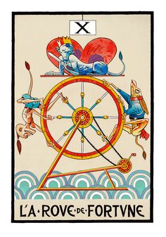 CATSUKA - Tarot by Jamie Hewlett (Gorillaz).