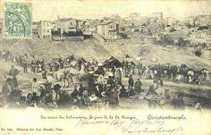 Hidirellez kutlamasi yapan cingeneler...Kurtulus 1900ler...