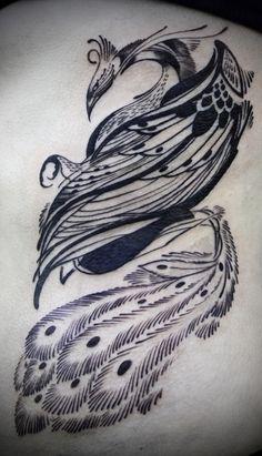 Love Hawk Tattoo