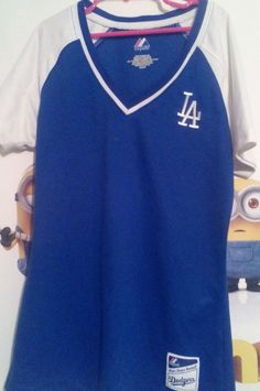 Los Angeles Dodgers T-shirt Majestic Boys Small Blue #Majestic #Everyday