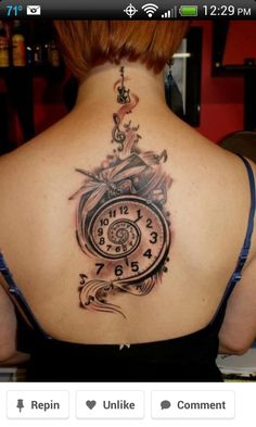 Warped clock idea