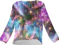 Black Hole Galaxy Silk Top - Available Here: http://printallover.me/collections/sondersky/products/0000000p-black-hole-galaxy-6