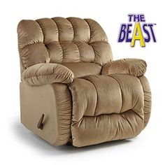 Recliners The Beast By Best Home Furnishings Built For The Big Tall Man With A Coil