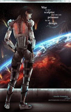 Commander Shepard Resolution by Gigi-FenixPhoenix.deviantart.com on @deviantART
