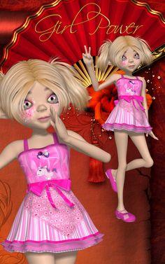 DA-GirlPower for Amity Tooth Fairy OUTFIT by 3DTubeMagic 3D Figure Essentials 3D Models DarkAngelGrafics