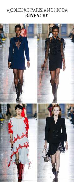 Resumão Paris Fashion Week - A coleção parisian chic da Givenchy