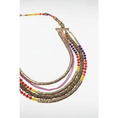 Collier femme multirangs métal perles BONOBO : prix, avis & notation, livraison.  Collier femme Bonobo, multirangs, perles colorées et dorées, anneaux en métal, fermoir mousqueton.Jeaner alternatif mixte créé en 2006, Bonobo propose une offre jeans authentique et à prix accessible pour une génération ouverte sur le monde, optimiste et engagée. (3612520407237) Tissu Principal : METAL 83% , VERRE 17%