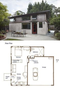 Top 3 multigenerational house plans build a for Granny flat above garage plans