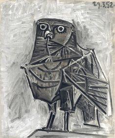 """""""La Chouette"""", 1952 By: PABLO PICASSO…."""