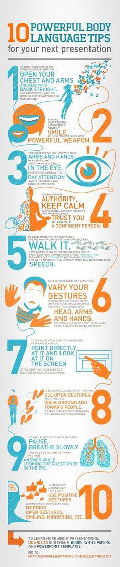 Presentation Body Language Tips...12.26.13