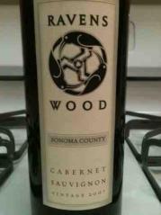 Ravenswood Sonoma County Cabernet Sauvignon