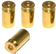 """(4 Count) Cool and Custom \""""45 Cal Bullet Shells with Easy Grip Design\"""" Tire Wheel Rim Air Valve Stem Dust Cap Seal Made of Genuine Anodized Brass Metal {Light Suzuki Gold Color - Hard Metal Internal Threads for Easy Application - Rust Proof - Fits For Most Cars, Trucks, SUV, RV, ATV, UTV, Motorcycle, Bicycles} >>> You can get additional details at the image link."""