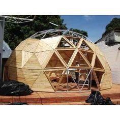 Diseño De Kits Casa Prefabricada Domos Geodesicos - Barquisimeto - en MercadoLibre