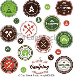 free camping clip art | , royalty free illustrations, stock clip art icon, stock clipart ...