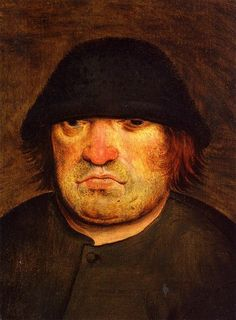 Pieter Brueghel the younger  Peasant's Head