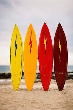 Lightning Bolt :: Pipeliners (Surfboards) - Impossible to dislike  Credits: Sérgio Rosário