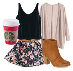 """Quick Draft #12-Coffee Date"" by brooklynbeauty18 ❤ liked on Polyvore featuring MANGO, Madden Girl, women's clothing, women's fashion, women, female, woman, misses, juniors and Pink"