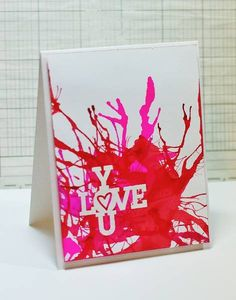 CAS207 - Love You 2 by jazzytobi - Cards and Paper Crafts at Splitcoaststampers