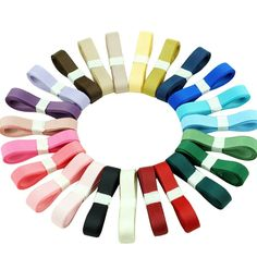 XUKE 3/8-Inch by 5M Double-Side Polyester Grosgrain DIY Ribbon >>> Click on the image for additional details.