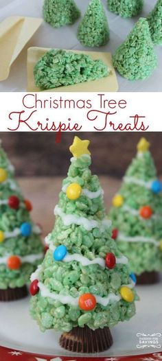 Easy Christmas Tree Treats Recipe! Cute Dessert or Holiday Party Idea!