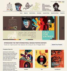 Reggae Poster | The website!