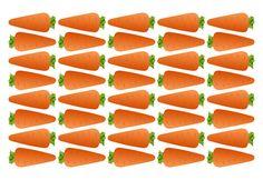 Морковь, раздаточный материал, картинка