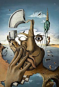 Salvador Dalí, Unknown on ArtStack #salvador-dali-1 #art