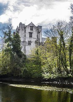 Eske River And Donegal Castle Greeting Card for Sale by Bill Cannon Beautiful Castles, Beautiful Places, Architecture Ireland, Castle In The Sky, Old Churches, Chateaus, Donegal, Abandoned Places, Towers