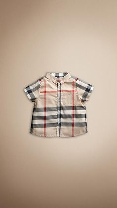Baby's first Burberry!