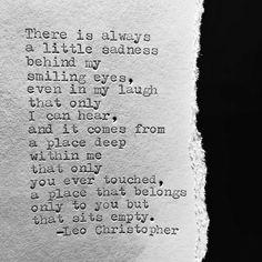 Leo Christopher • Sits Empty